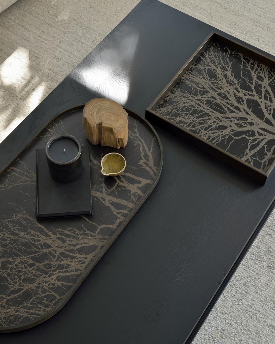 Black Tree houten dienblad - M