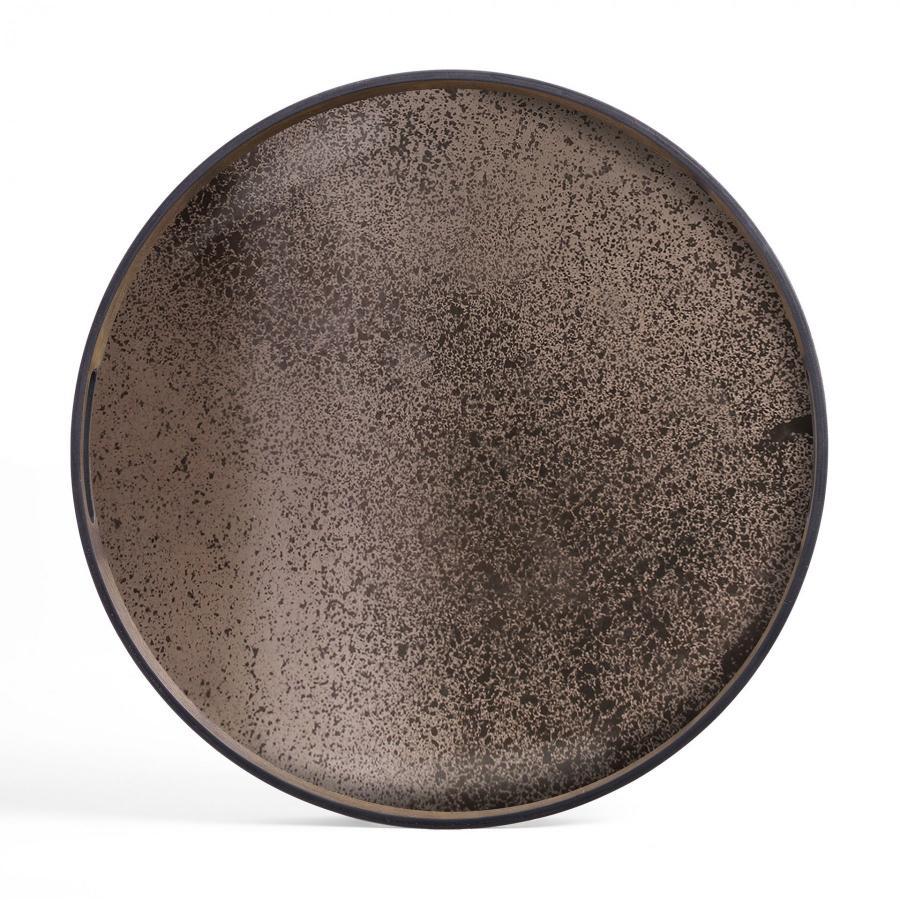 Bronze spiegel dienblad - S