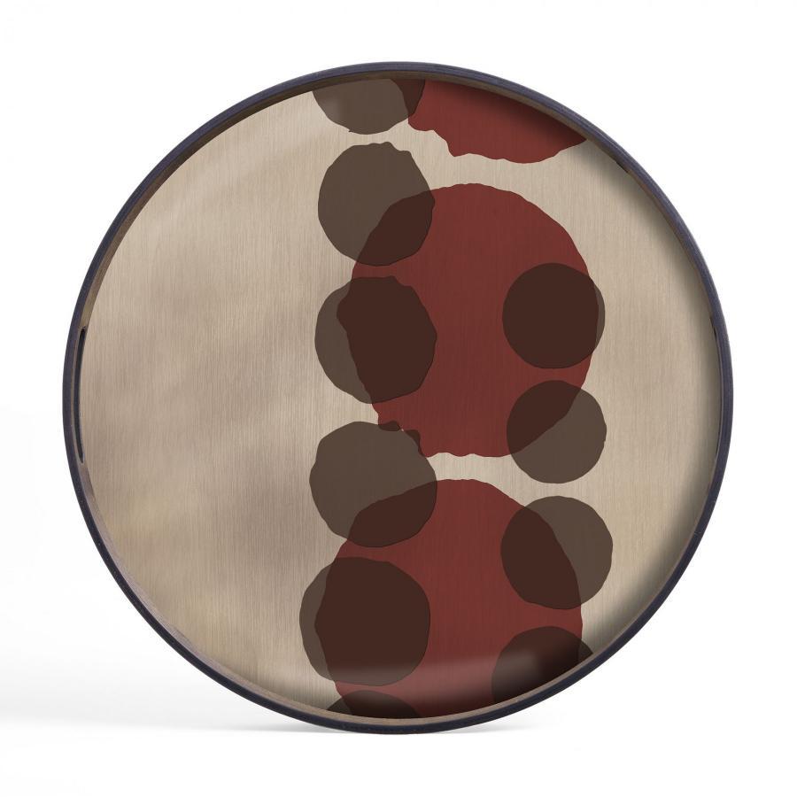 Pinot Layered Dots glazen dienblad - S