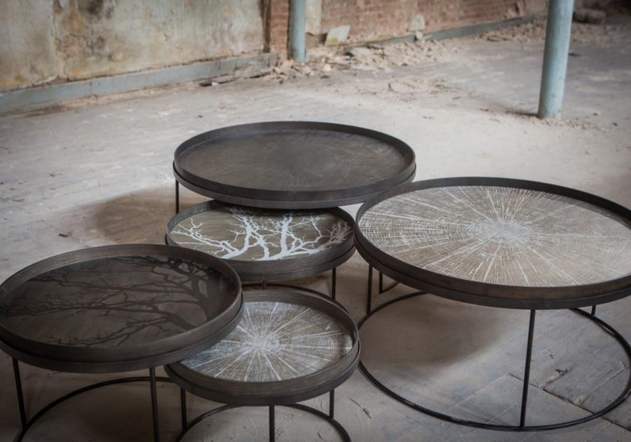 Ethnicraft - Salontafels - Disc ronde salontafel
