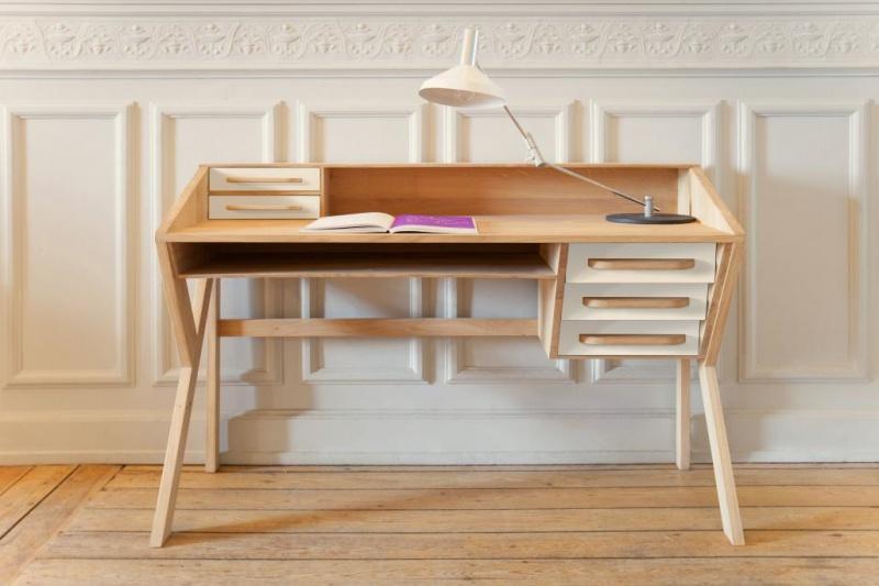 Ethnicraft - Kantoormeubelen - Origami Desk