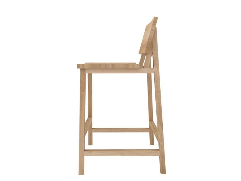 Ethnicraft - Stoelen - N3 counter stoel